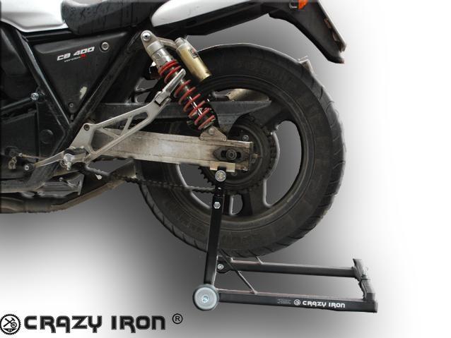 Подставка под заднее колесо мотоцикла своими руками
